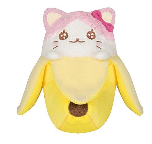 Bananyako Plush | Pink & White | Bananya Plush 1