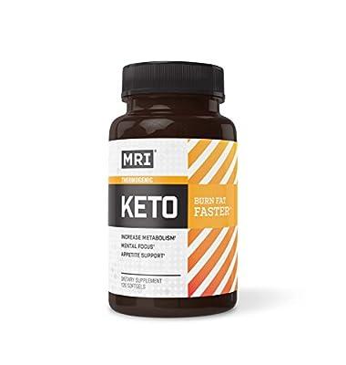 MRI Keto Thermogenic Softgels, 120 Count