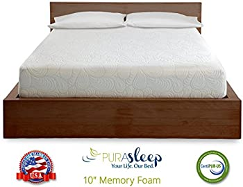 PuraSleep 10 Inch Foam Mattress