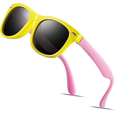 Kids Sunglasses For Kids- FEIDU Polarized Sunglasses Girls Child Boys Age 3-10