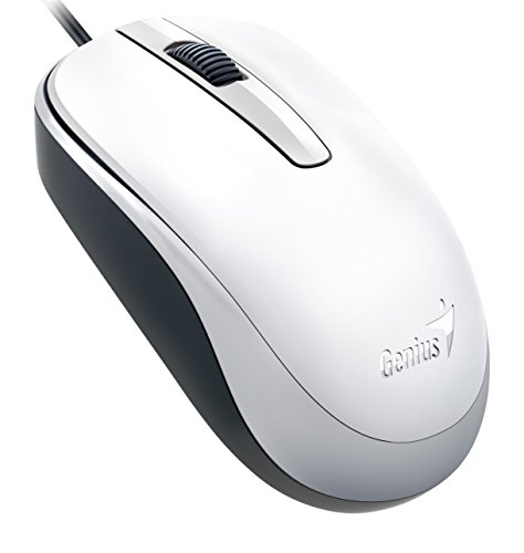 Genius Classic Wired Optical Mouse  White  Dx 120White