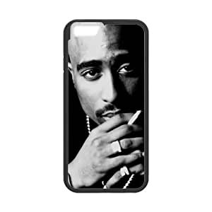 2 Pac Cell Phone Protector for iPhone 6(4.7) Plastic and TPU (Laser Technology)