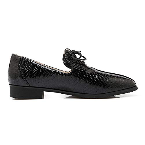 Noir Coolcept Femmes Chaussures À Casual Lacets qwF7w4fAx