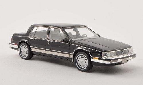 Buick elettronico parco Avenue, nero, 1986, modello di automobile, modello prefabbricato, GLM 1 43 Modello esclusivamente Da Collezione