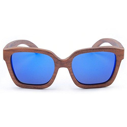 Gafas conducción de UV la los de Sol de Sol Lens Polarized Gato Hechos de de Hombres Gafas Sol a de Personalidad Mano Gafas bambú de de Esqu Protección Retro Ojos Gafas Aclth TAC Playa de de O7pgvn