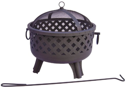 Landmann 26374 23-1/2-Inch Baton Rouge Garden Lights Fire Pit (Discontinued by Manufacturer)