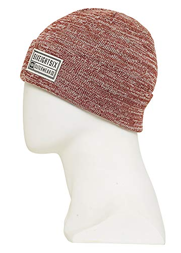 - 686 MNS Melange Beanie, Rusty Red, One Size