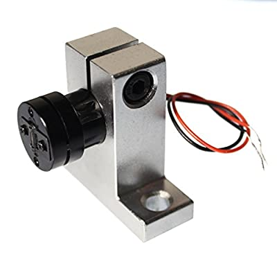 "farhop 5mW 532nm Green ""Line"" Laser Module 532-L-12-30-G-5-3 with Aluminum Laser Mount Holder"