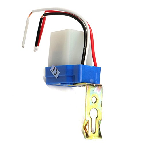 AC220V 10A Automatic Induction Switch Street Lamp Optical Waterproof Light 491 Printers