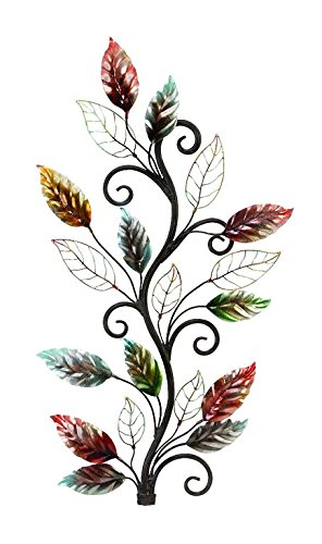 Deco 79 Metal Wall Decor Brings the Nature to Your Rooms
