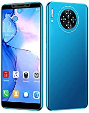 M30 Plus 5.8in mobiltelefon, 6GB + 64GB Dual Card Dual Standby Smartphone för Android-system, MTK6797 3G 8MP + 16MP telefon, med 4000 mAh Li-ion batteri, blå
