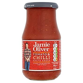 Jamie Oliver Tomato & Chilli Pasta Sauce 400g - Pack ...