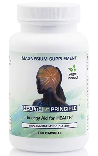 Magnesium Glycinate and Citrate Supplement - for Stress and Anxiety Relief, Better Sleep, and Muscle Recovery - for Women & Men - Vegan & Gluten Free, USDA Organic - 100 Veggie Capsules