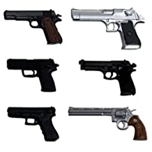 1/12 realistic weapon series realistic handgun (six)