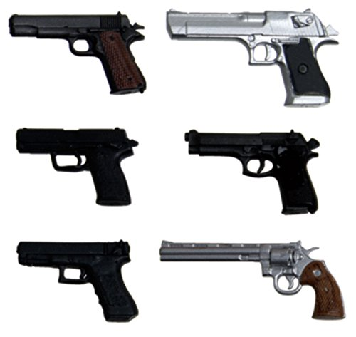 1//12 realistic Weapon series realistic handgun 6 species