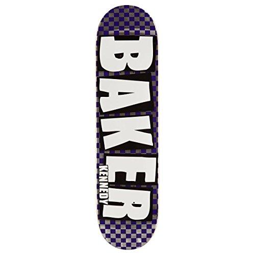 ドレスウェイドグリーンランドBaker ケネディブランド名チェック ホイルスケートボードデッキ - 8.00インチ