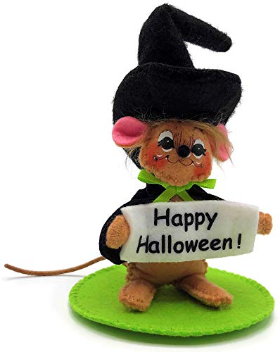 """Annalee 3"""" Halloween Witch Mouse"""
