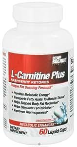 Top Secret Nutrition L-Carnitine +Raspberry Ketones 60 Liquid Caps