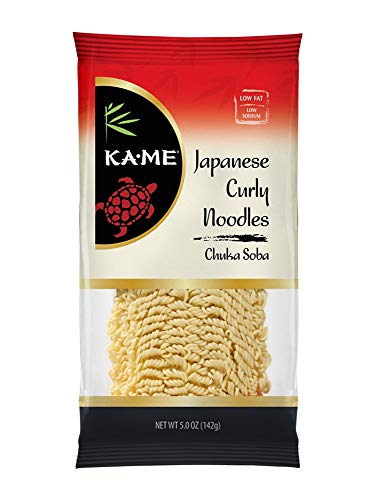(Ka-Me Noodles, Japanese Curly (Chuka Soba), 5 Ounce (Pack of 12))