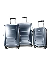 Samsonite Luggage Winfield 2, 3 Piece Roller Set, Blue Slate, One Size