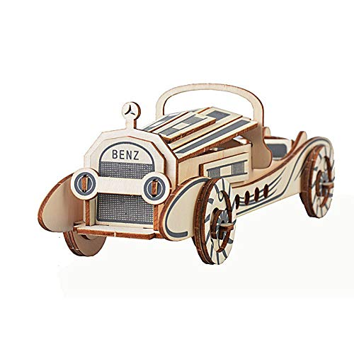 美品  Oray168 #OB-G001H 3D木製カーパズル Oray168 頭の体操パズル 子供用木製組み立て木製クラフトキット 教育玩具 DIY 3Dカー木製パズル DIY #OB-G001H B07H5FSNVQ, DREAMBOX:96a80d04 --- senas.4x4.lt