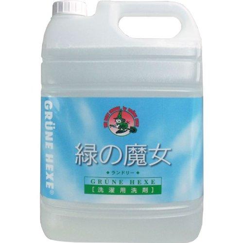 液体洗剤 衣類用 ドイツ生まれ!汚れに強く、地球に優しい洗剤!5L【5個セット】 B00W2UT8SQ
