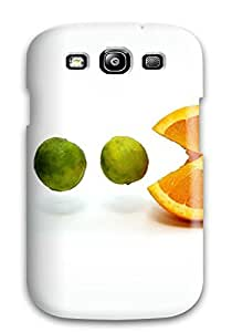 Excellent Design Limes And An Orange Case Cover For Galaxy S3 by lolosakes