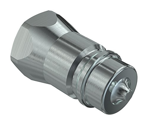 Faster Coupling 2NV 12 NPT M ISO A Steel, Poppet Style, Male, 1/2' x 1/2' NPT