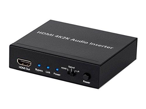 Monoprice BlackbirdTM 4K Series HDMI Audio Inserter