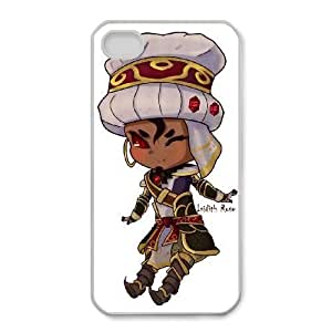 iphone4 4s White phone case World of Warcraft Wrathion WOW9004920