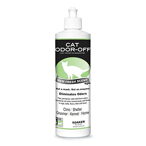 Thornell CO-OFS Cat Odor-Off RTU Fresh Scent, 16-Ounce Ready to use, CO-OFS, Clear