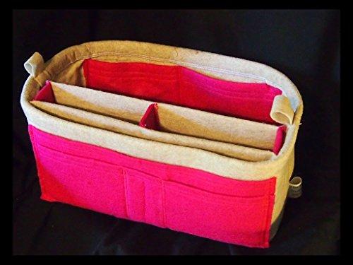 Purse Insert,13w 8h 6d LV purse insert, Handbag organizer, Bag insert, Felt purse insert, Dolce Insert