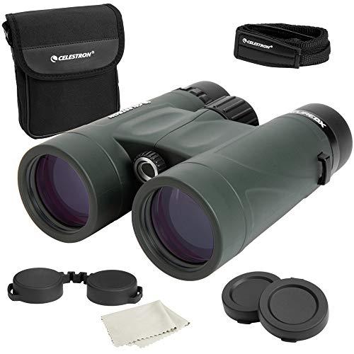Celestron - Nature DX 8x42 Binoculars - Outdoor and Birding Binocular - Fully Multi-coated with BaK-4 Prisms - Rubber Armored - Fog & Waterproof Binoculars - Top Pick Optics