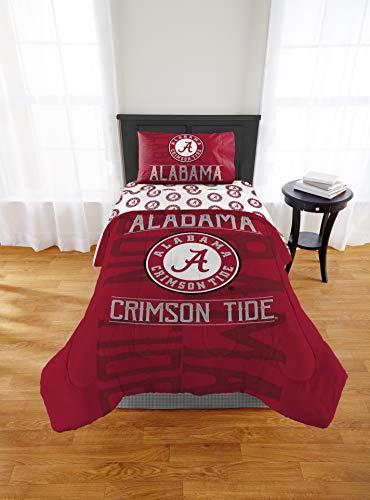 Alabama Crimson Tide Twin Comforter, Sheet Set & Bonus Pillow SHAM, 5 Piece Bedding, New! + Homemade Wax Melts