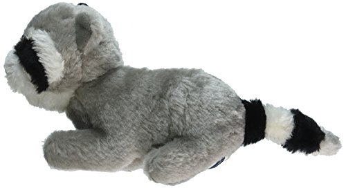 Copa Judaica Chewish Treat Ganef Racoon Squeaker Plush Dog Toy, 8 by 3 by 5-Inch, Multicolor ()
