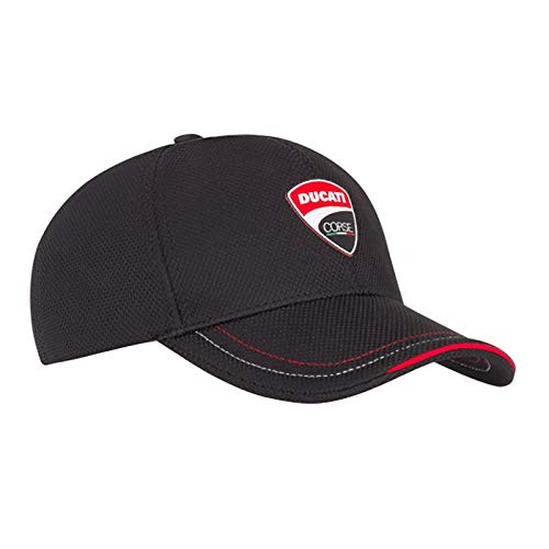 Ducati Racing Team - Whybee 2019 Ducati Corse Racing MotoGP Official Team Baseball Cap Black Polyester Adult