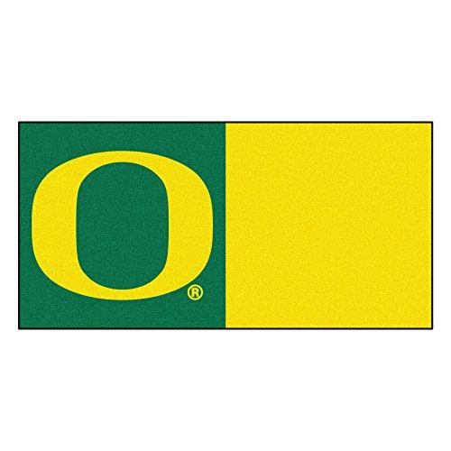 FANMATS NCAA University of Oregon Ducks Nylon Face Team Carpet Tiles by Fanmats