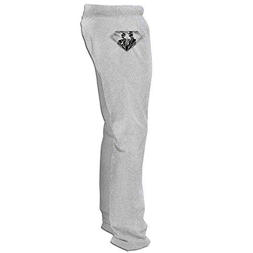 Yesher Geek Men's American Tv Show Long Workout Pants - Ash Size XL