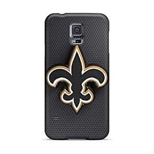 PhilHolmes Samsung Galaxy S5 Shockproof Hard Cell-phone Cases Support Personal Customs Lifelike New Orleans Saints Pictures [eSx14525qlOV]
