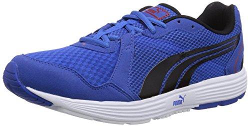 Puma Descendant v2, Herren Hallenschuhe, Blau (10 strong blue-black-red), 44.5 EU (10 Herren UK)