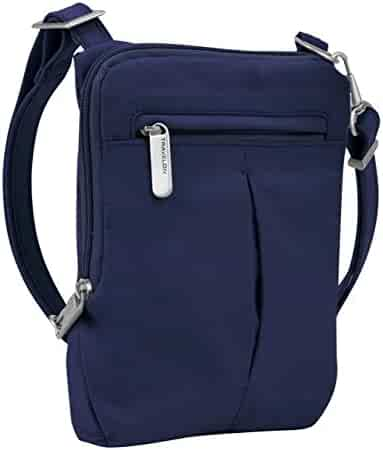 Travelon Anti-Theft Classic Light Mini Crossbody Messenger Bag