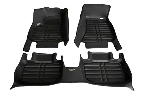 oor Mats for Dodge Charger RWD 2011-2019 Models - Laser Measured, Largest Coverage, Waterproof, All Weather. The Best Dodge Charger Accessory. (Full Set - Black) ()