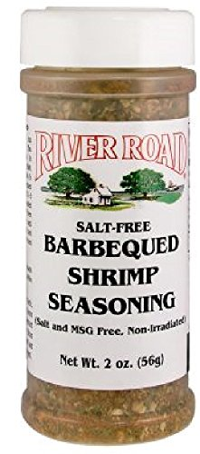 River Road Salt-Free Barbequed Shrimp Seasoning, 2 Ounce Shaker