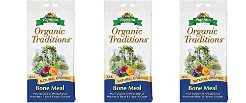 - Espoma BM10 Organic Traditions Bone Meal 4-12-0, 10 Pounds (3-Pack)