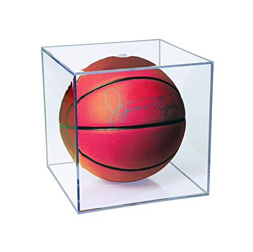 (Ultra Pro Basketball Display Case with UV Protection)