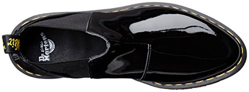 Dr.Martens Womens Bianca Antique Milled Leather Boots, Black, 42