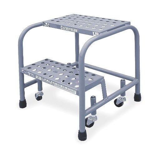 20'' H Steel Rolling Ladder, 450 lb. Load Capacity
