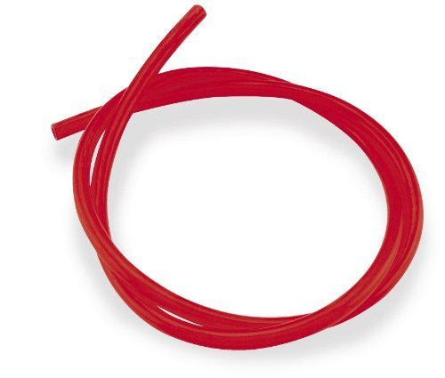 Helix Racing Products 140-3801S Colored Fuel Line - 1/4in. ID x 3/8in. OD - 3ft. - Solid - Colored Fuel Line Red