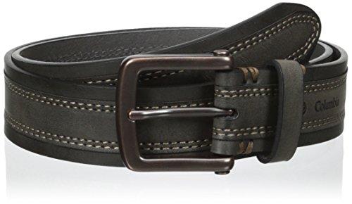 (Columbia Men's Alphine Logo Belt, Brown, 34)