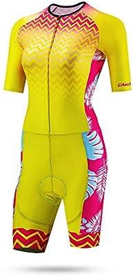 Pettneeds Conjunto de Jersey de Ciclismo para Mujer Traje de ...